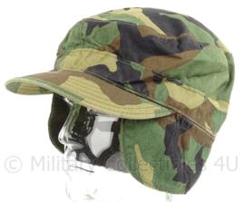 US Army woodland cap  - maat 7 1/2 - origineel