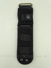 Universal Tactical Knife pouch Meshouder been -  25 X 7 X 1 cm.   - Zwart