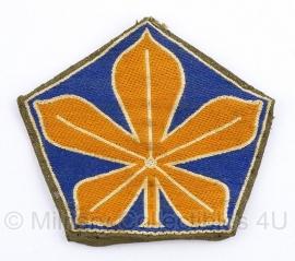 KL Nederlandse leger 5e divisie kastanjeblad embleem - origineel