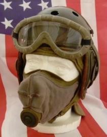 WW2 US M1 Dust Respirator M1 - Voor voertuig bemanningen! - ONGEBRUIKT - origineel 1942 gedateerd