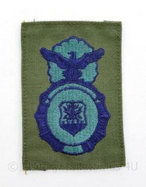 USAF Air Force Security Police badge  - 8,5 x 4 cm - origineel