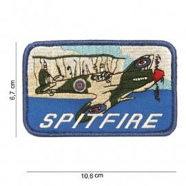 Embleem stof Spitfire - 10,6 x 6,7 cm