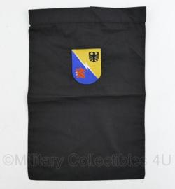 KL Nederlandse leger halsdoek Command Support Brigade 1 GE/NL Corps - zwart - origineel