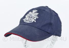 Korps Mariniers blauwe baseball cap - one size - origineel