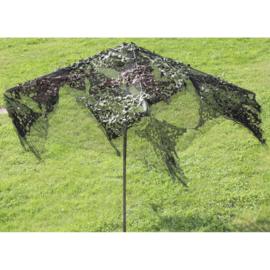 Camouflage parasol - uniek!