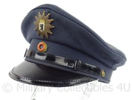 Duitse Bundespolizei Berlin platte pet - maat 57 - origineel
