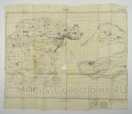 Duitse stafkaart zusammendruck aus Russische Beutekarte! Kertsch -  79 x 68 cm. - schaal 1:100000 - origineel 1942
