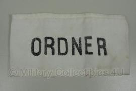 """DDR armband Wit """"Ordner""""- origineel"""