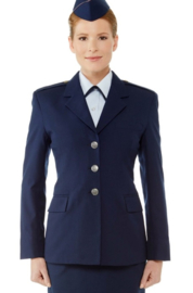 USAF US Air Force Dames uniform jasje Coat Woman's Air Force Blue - size 14ML = maat 40  - Senior Airman  - origineel