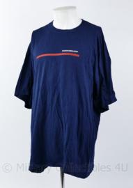 Korps Mariniers T-shirt donkerblauw Mariniers loop - maat 2XL -  origineel