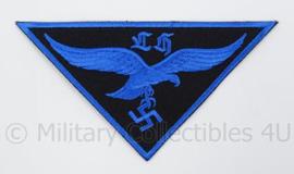 HJ hitlerjugend LH Luftwaffe Flakhelfer embleem