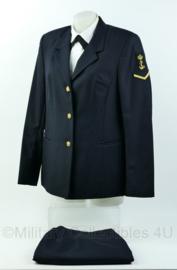 Koninklijke Marine dames daags blauw uniform - maat 38 - origineel