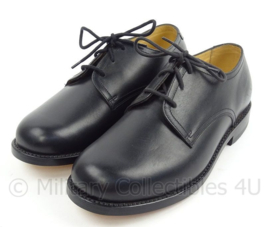 KL Nederlandse leger DT schoenen zwart met lederen zool Goodyear randgenaaid - VAN LIER - ONGEDRAGEN - maat 270B = 43B - origineel