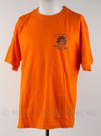 KL Landmacht T shirt 45 painfbat RIOG - Staf Staf Compagnie Ermelo - maat L - origineel