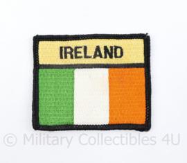 Ireland met vlag patch - 7 x 6 cm  - origineel