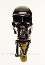 WO2 British No. 4 Commando Skull cap badge in geschenk- of displaydoosje