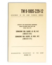 US SMG CAL.45M3 en M3AI - MANUAL TM9-1005-229-12