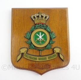 MVO en KM Marine wandbord Gezamelijke Staf Comite Verenigde Chefs van Staven - 1972-1974 - afmeting 16 x 14 x 1,5 cm - origineel