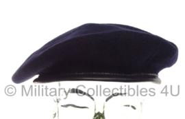 Britse leger baret ONGEBRUIKT - donkerblauw - maat 50 tm. 64 !  - origineel