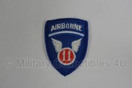 WWII US 11th Airborne Division patch - kleine uitvoering!