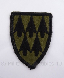 US Vietnam oorlog patch - 32nd Air Defence Artillery ADA - subdued - 5 x 7 cm - origineel