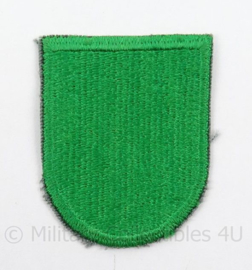 US Army Special Forces baret insigne 10th SFGA flash patch - afmeting 4,5 x 6 cm - origineel