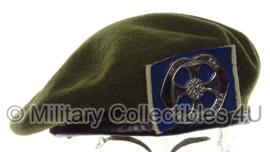 KL Nederlandse leger baret - legeraalmoezenier - maat 58 - origineel