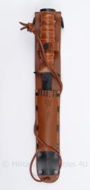 M3 knife lichte greep met lederen M6 schede