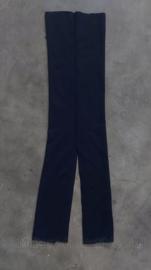 Kmar Marechaussee colsjaal donkerblauw  - 91,5 x 23 cm - origineel