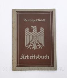 Wo2 Duits Arbeitsbuch uit 1935 - 10,5 x 15,5 cm - origineel