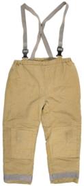 Brandweer Zandkleurige LOSSE broek   - Large tall - origineel