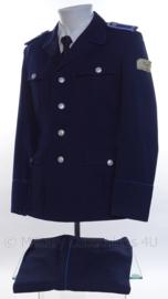 Duits DDR uniform jasje en broek - donkerblauw - maat 44 = Extra Small - origineel