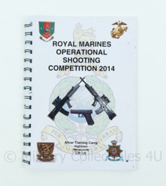 Britse leger/ Korps Mariniers - Royal Marines  operational shooting competition 2014