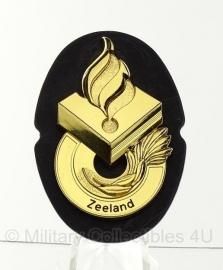 Politie brevet Zeeland - origineel