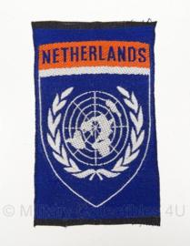 VN/UN embleem Netherlands - 5 x 8,5 cm - origineel
