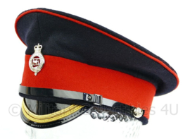 Britse Leger platte pet met insigne - maat 56 - origineel