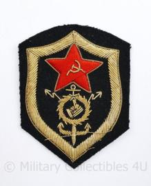 USSR Russische leger embleem Officier metaaldraad - 8,5 x 6,5 cm - origineel