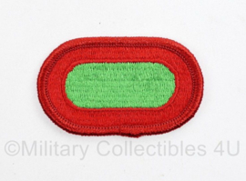 Us Army Oval Wing 10th The Special Forces voor op de borst voor onder de parawing  - Naoorlogs - 6 x 3,5 cm - origineel
