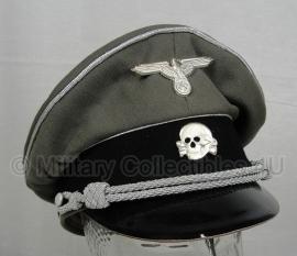 Waffen ss officiers schirmmütze grau - algemeen - 56 of 60 cm