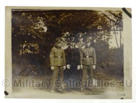 WO2 Duitse foto Heer, RAD en Algemeine SS - 9 x 6,5 cm - origineel