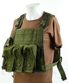 Blackhawk Heli Vest plate carrier met magazijntassen  - groen - licht gebruikt - origineel