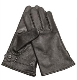 Handschoenen leger DT model - echt leder - zwart - nieuw gemaakt