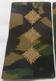 Britse DPM camo  ENKELE schouderstuk - rang Captain  - origineel