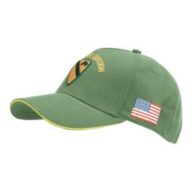 Baseball cap WWII  US Cavalry - GROEN