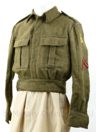 MVO Battledress Technische troepen 1953 - Soldaat 1e klasse - maat 46 - origineel