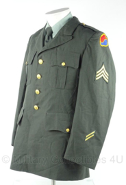 US Army class A Vietnam oorlog Sergeant - Coat, Man's, Army Green 1986 - size 40R = NL maat 50 - origineel