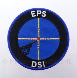 Nederlands  EPS DSI embleem met klittenband - diameter 9 cm