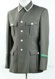 DDR Grenztruppen der DDR onderofficier wollen uniform - maat M 48-o - grijs - gedragen - origineel
