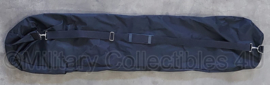 Zwarte draagtas wapentas met rits - 130 x 30 cm - origineel