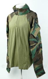 Korps Mariniers UBAC shirt - woodland forest camo - Nieuw - met inleg voor ellebogen - maat XXL - origineel